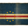 Grunge flag of Cape Verde — Stock Photo