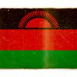 Grunge flag of Malawi — Stock Photo