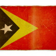 Grunge flag of East Timor - Stock Photo