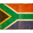 Grunge flag of South africa — Stock Photo #8608294