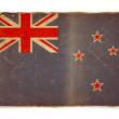 Grunge flag of New Zealand — Foto de Stock