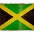 Grunge flag of Jamaica — Foto Stock