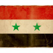 Grunge flag of Syria — Foto Stock