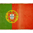 Grunge flag of Portugal — Foto Stock