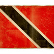 Grunge flag of Trinidad and tobago — Foto Stock