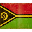 Grunge flag of Vanuatu — Photo