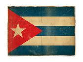 Grunge flag of Cuba — Stock Photo