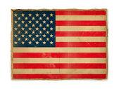 Abd bayrağı Grunge — Stok fotoğraf