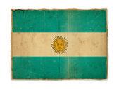 Grunge flag of Argentina — Stock Photo