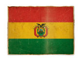 Grunge flag of Bolivia — ストック写真