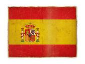 Grunge flag of Spain — Stock Photo