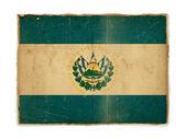 Grunge flag of Peru — Stock Photo