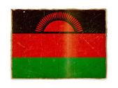 Grunge flag of Malawi — Stock Photo
