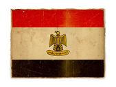 Grunge flag of Egypt — Stock Photo