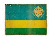 Grunge flag of Rwanda — Stock Photo