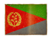 Grunge flag of Eritrea — Stock Photo