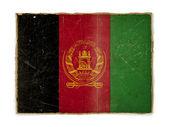 Grunge flag of Afghanistan — Stock Photo
