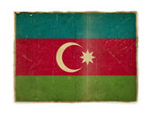 Grunge flag of Azerbaijan — Foto de Stock