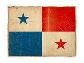 Grunge flag of Panama — Stock Photo