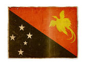Grunge flag of Papua New Guinea — Stock Photo