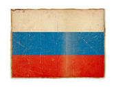 Grunge flag of Russia — Stock Photo