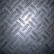 Diamond plate metal texture — Stock Photo