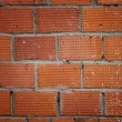 Weathered stained old brick wall — Stockfoto #8612393