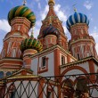 Cathedral of St. Basil the Blessed - Foto de Stock