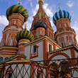 Cathedral of St. Basil the Blessed — Stock Photo