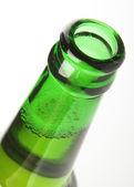 Green beer bottle — Stock Photo