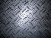 Diamond plate metal texture — 图库照片