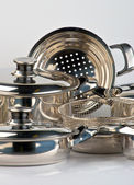 Metal cookware — Foto de Stock