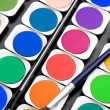 Set color paint — Stock Photo