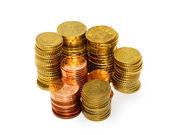 Gold Coins — Zdjęcie stockowe