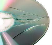 Broken CD — Stock Photo
