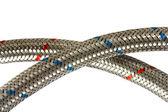 Metallic hoses — Stock Photo