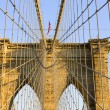 Brooklyn Bridge, New York, USA — Stock Photo