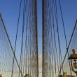 Stock Photo: Brooklyn Bridge, New York, USA
