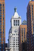 Clocktower. Manhattan NY — Stock Photo