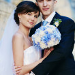 图库照片: Wedding couple