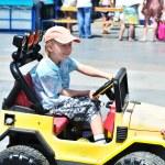 Little driver — Stock Photo #9062219