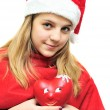 Teen santa — Stock Photo #9062341