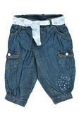Baby jeans — Stock Photo