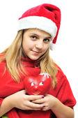 Teen santa — Stok fotoğraf