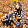 Autumn fun — Stock Photo #9081222