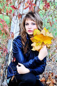 Herfst tederheid — Stockfoto