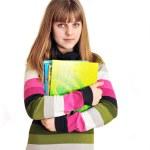 School-girl — Stock Photo