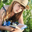 Reading girl — Stock Photo #9158142