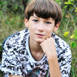 Teen boy - Foto Stock