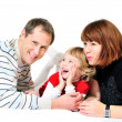 Laughing family — Stock Photo #9158268